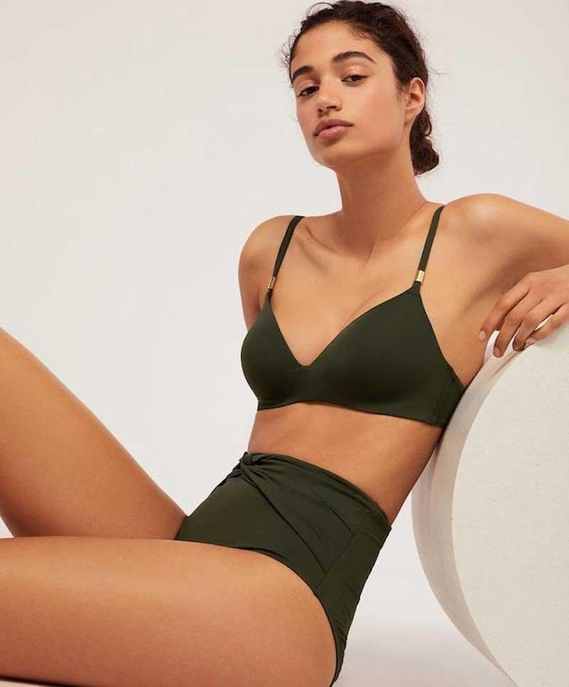 Bikini color militar Oysho
