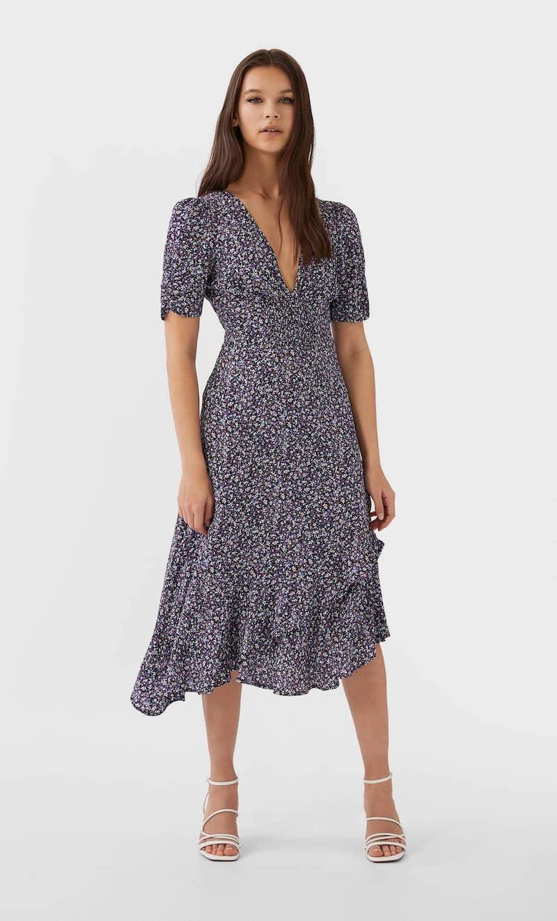 stradivarius vestido