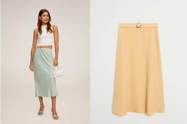 faldas de mango rebajadas