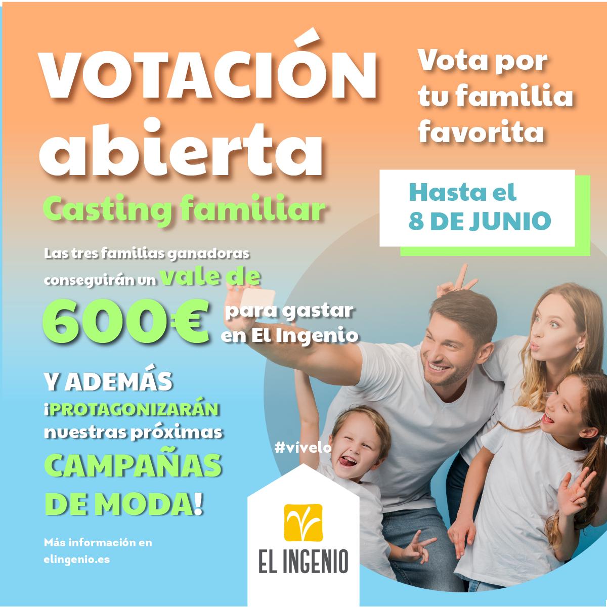votaciones casting