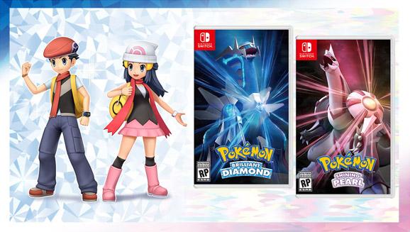 Pokémon Perla Reluciente y Diamante Brillante